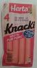Knacki - Saucisses de Strasbourg pur porc - Prodotto