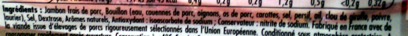Tendre Noix, à la Broche (6 Tranches) - Ingredients
