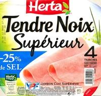 Tendre Noix, Supérieur (- 25 % de Sel) - Produit