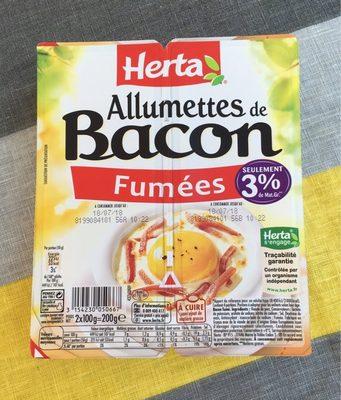 Allumettes de bacon - Produit