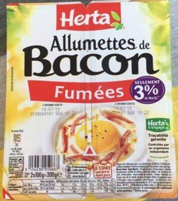 Allumettes de bacon - Produit - fr