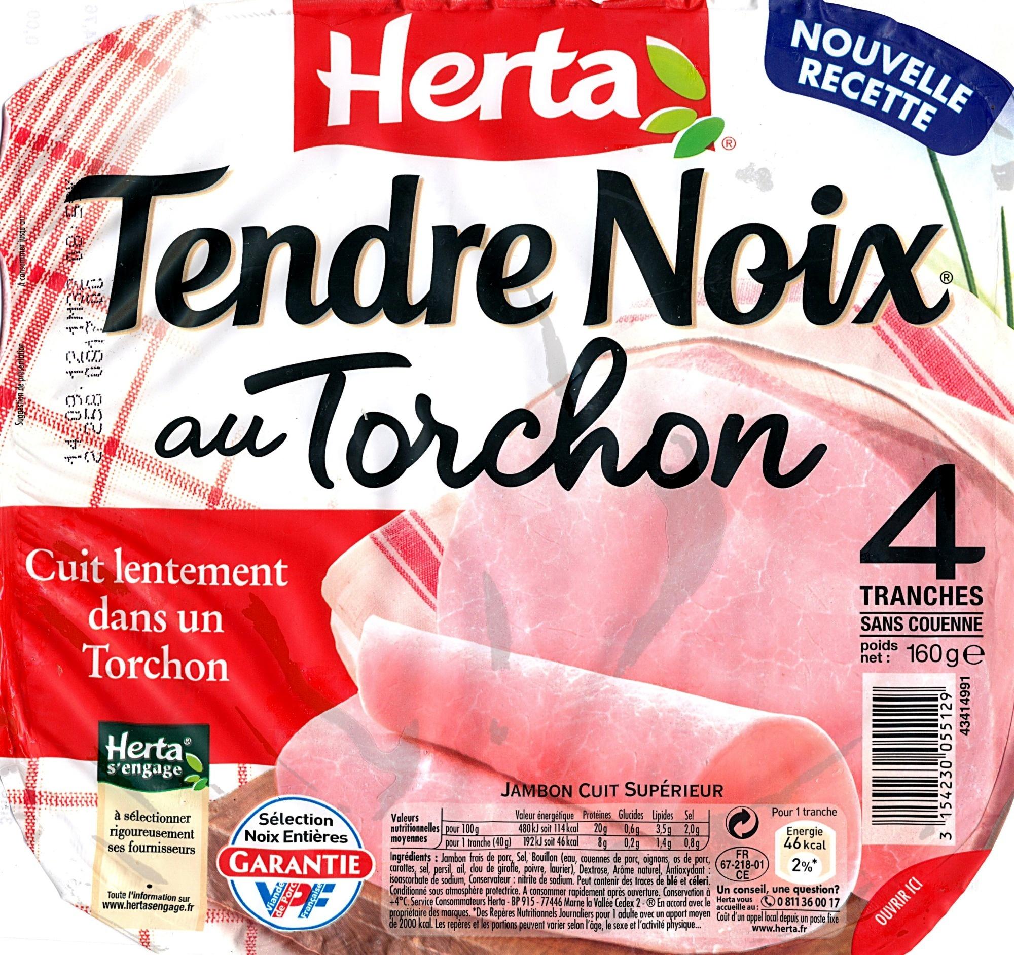 Tendre Noix, au Torchon (4 Tranches Sans Couenne) - Produit - fr