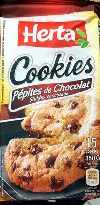 Cookies, Pépites de Chocolat (15 Cookies) - Product - fr