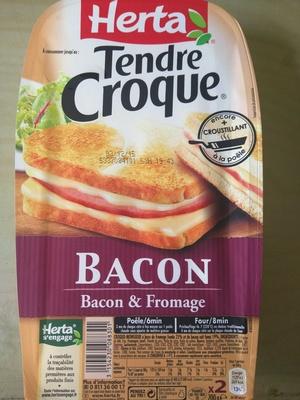 Tendre Croque Bacon & Fromage - Produit - fr