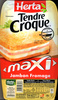 Tendre Croque, maXI Jambon Fromage (x 2) - Product