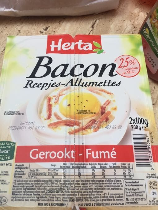 Bacon Allumettes - Product - fr