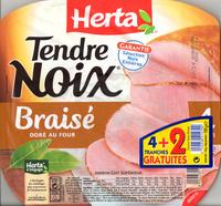 Tendre Noix, Braisé Doré au Four (4 Tranches + 2 Gratuites) - Produit