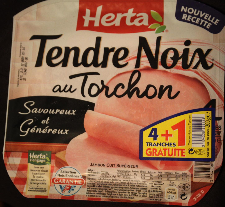 Tendre Noix, au Torchon (4 Tranches + 1 Gratuite) - Produit - fr