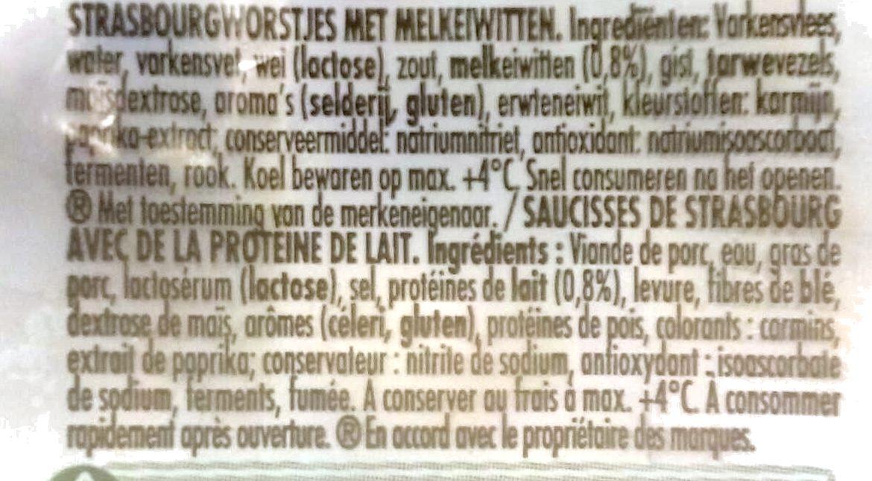 Knacki - Ingrediënten - fr
