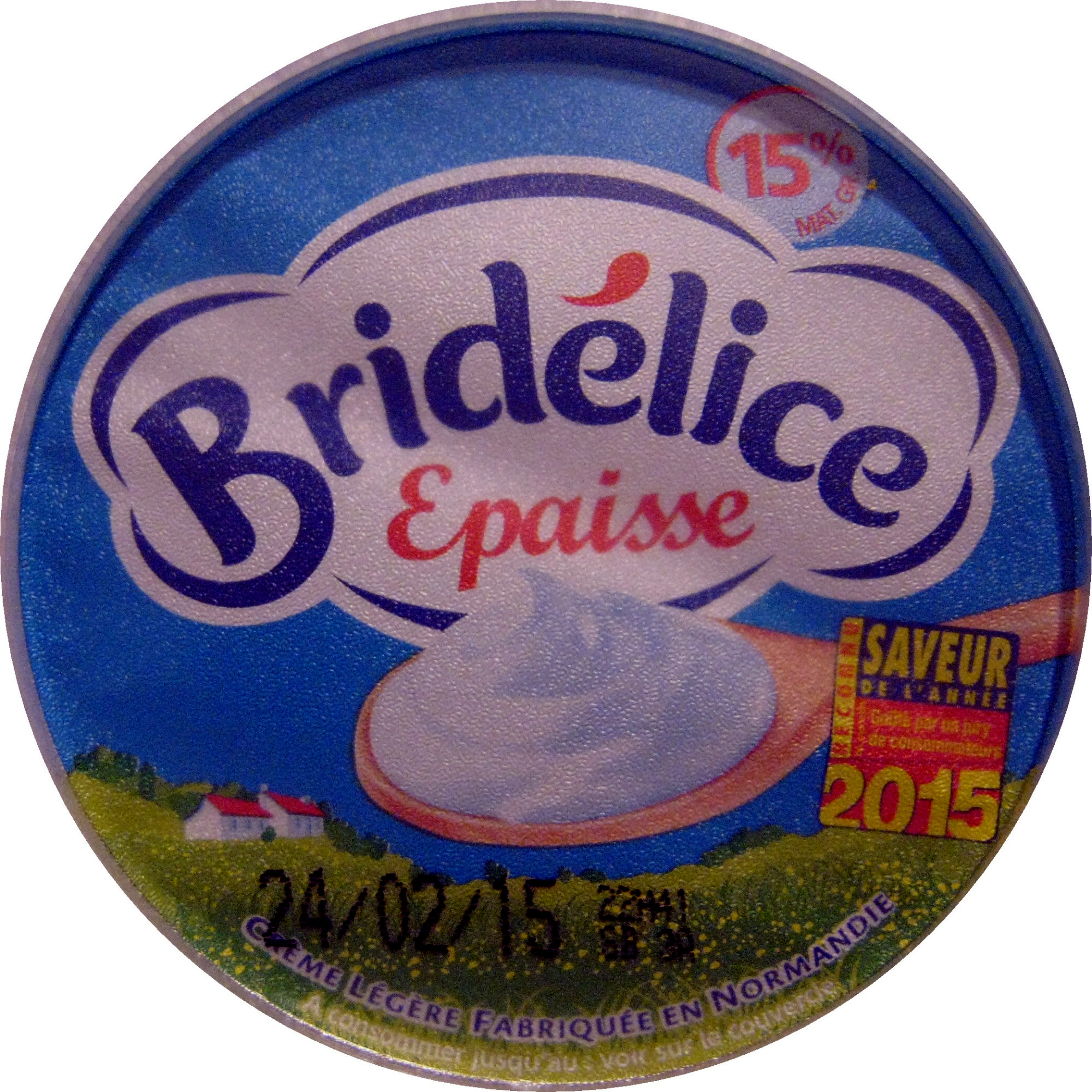 Crème épaisse légère (15 % MG) - Product