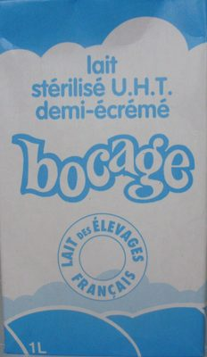 Lait stérilisé UHT demi-écrémé - Produit - fr