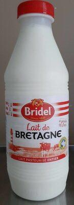 Lait de Bretagne Lait pasteurisé entier - Product - fr