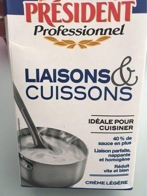 Crème Uht Liaisons Et Cuissons - Produit - fr