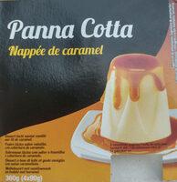 Panna Cotta Nappé de caramel - Produit - fr