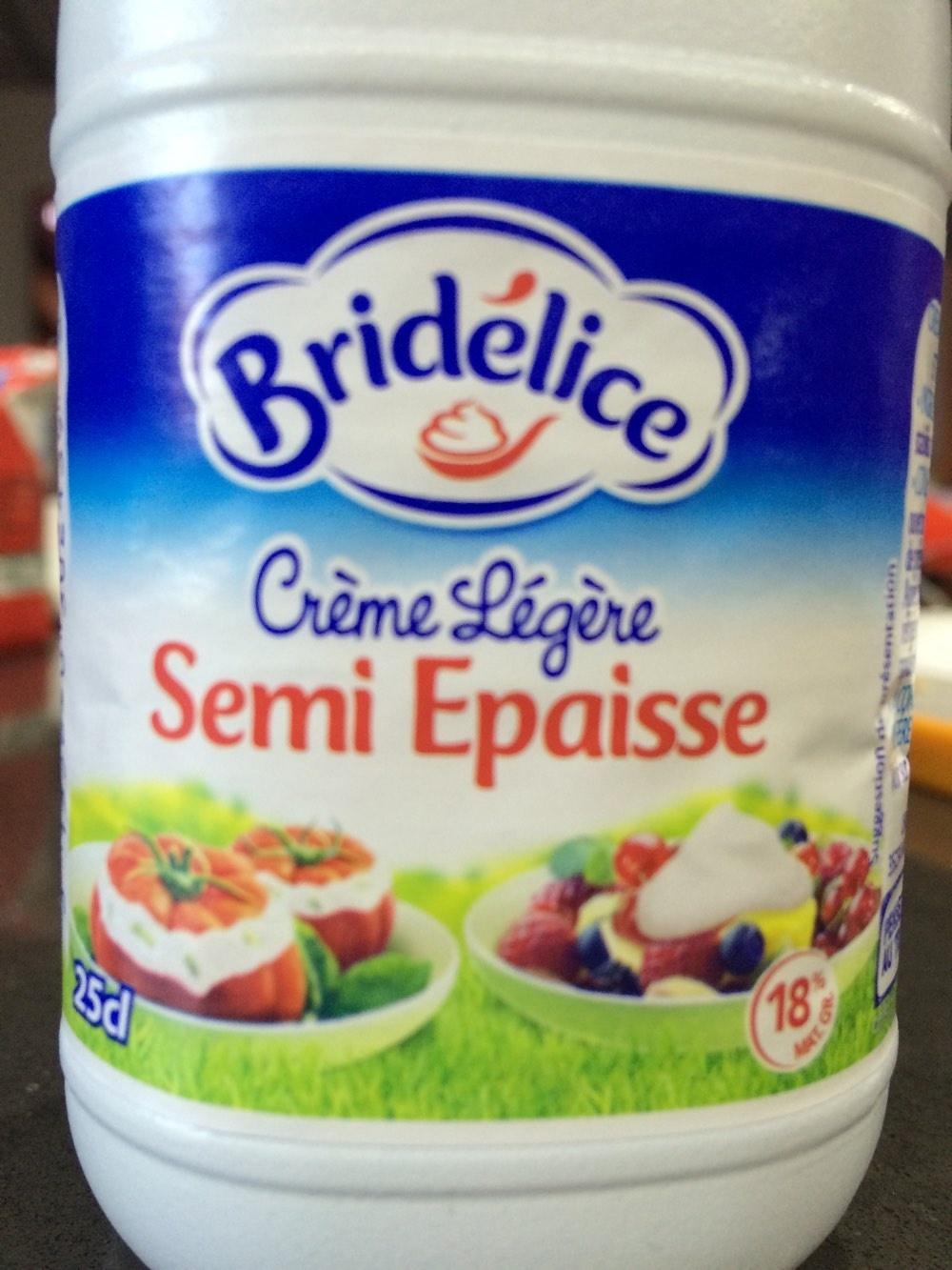 Crème Légère Semi Epaisse - Product
