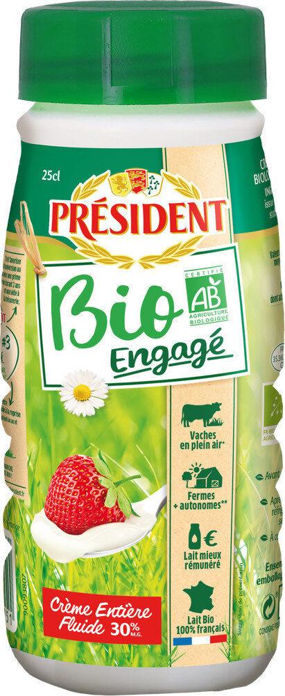 Crème entière biologique fluide 30% Mat. Gr. uht - Product - fr