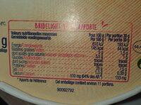 Bridelight - Informations nutritionnelles - fr