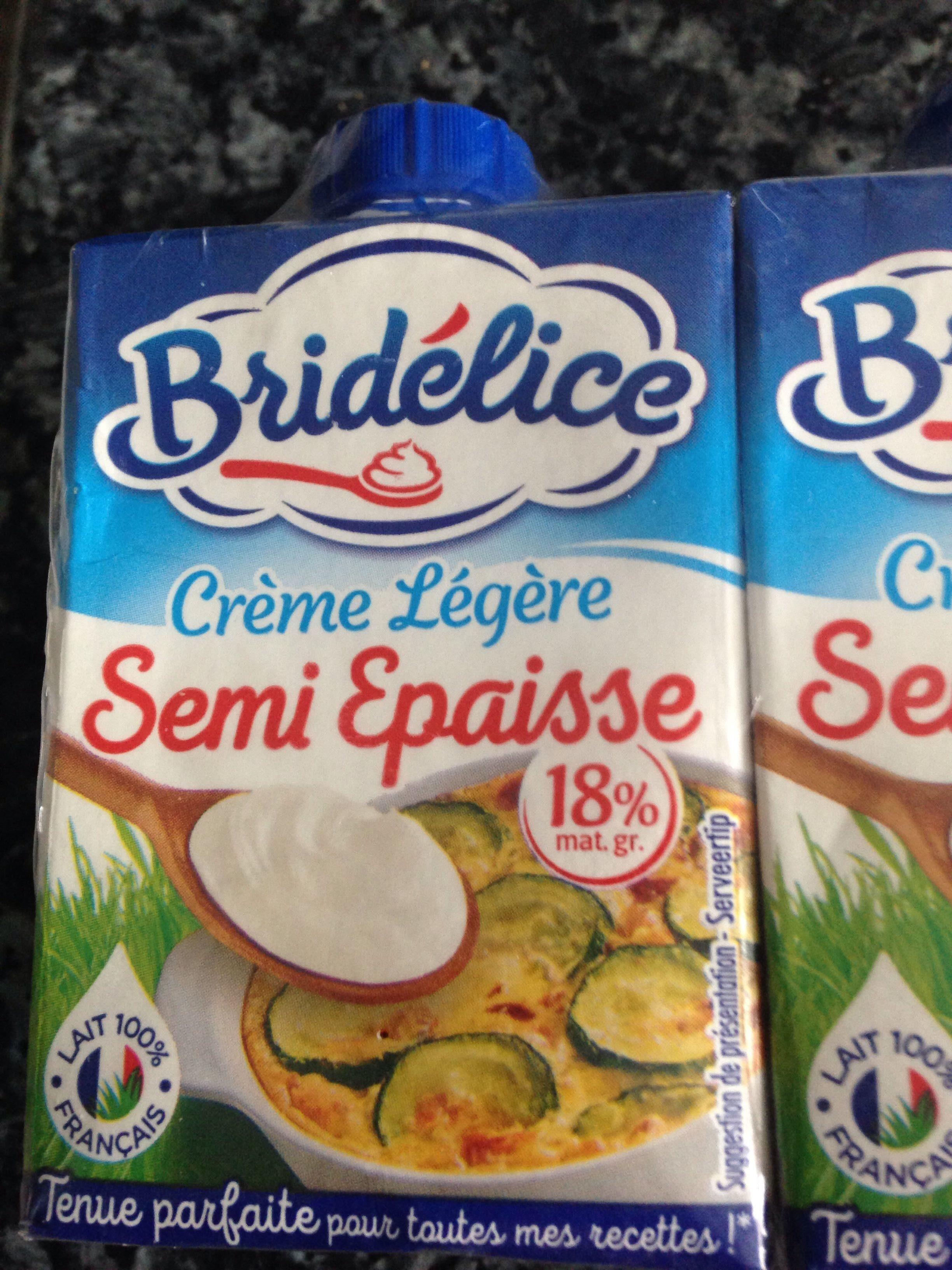 Crème Légère Semi Épaisse - Product