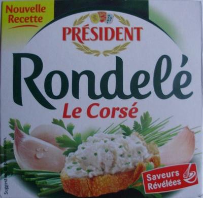 Rondelé Le Corsé (30 % MG) - Produit - fr