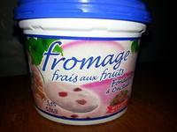 Fromage frais aux fruits - Produit