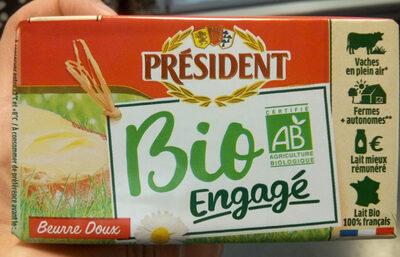 Le Beurre Bio Doux (82 % MG) - Producte - fr