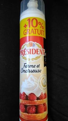 Crème chantilly ferme et onctueuse - Product