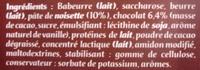 Pâte à Tartiner - Chocolat Noisette - Ingrédients