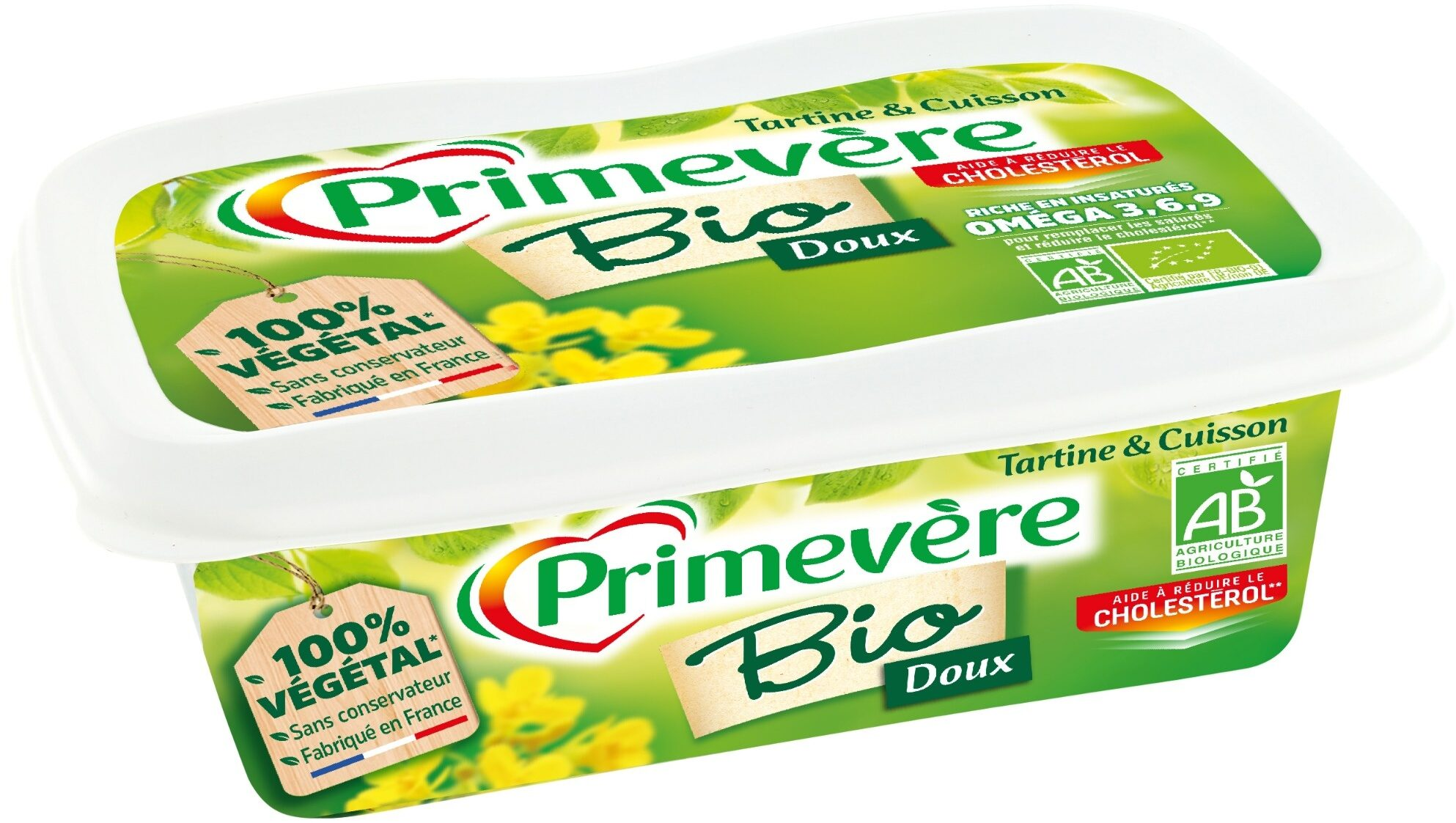 Primevère Bio Tartine & Cuisson - Produit - fr