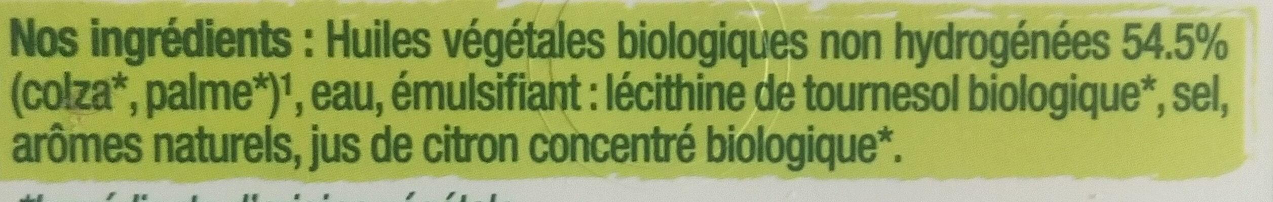 Primevère Bio Tartine & Cuisson - Ingrédients - fr