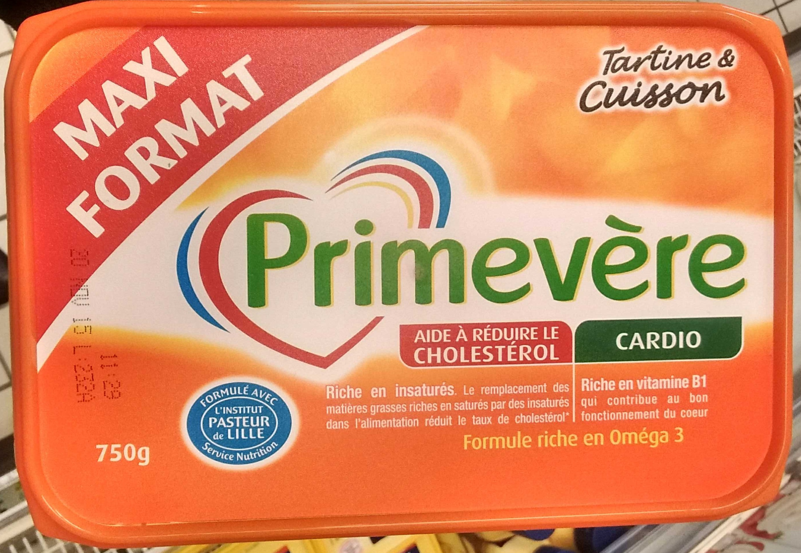 Primevère Tartine & Cuisson - Produit
