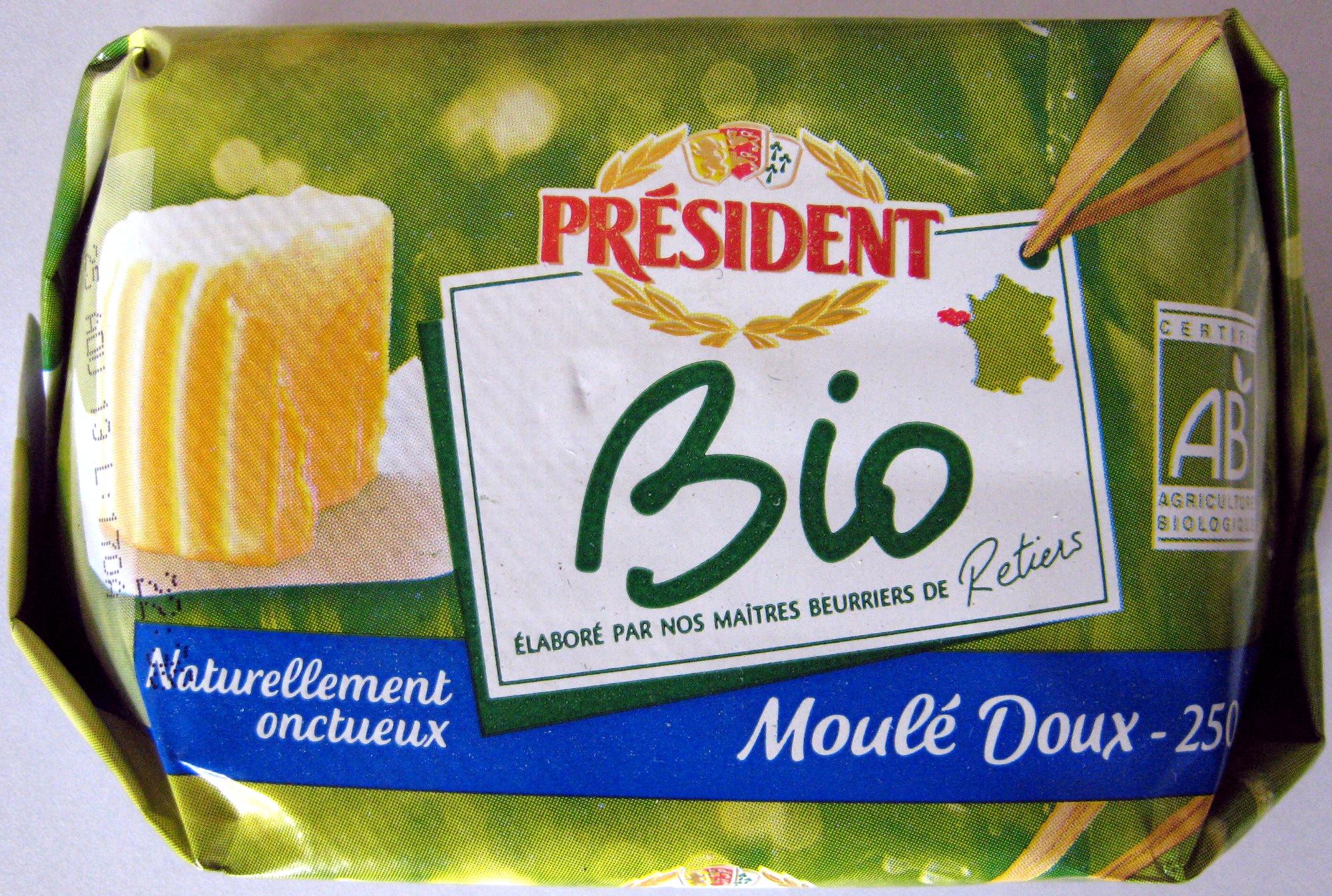 Beurre Moulé Doux Bio - Produit - fr