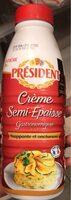 Crème entière semi-épaisse - Product - fr