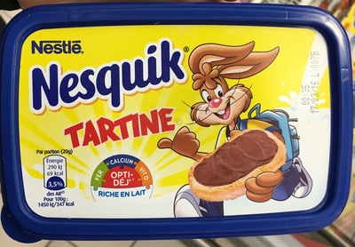 Nesquik Tartine - Produit - fr