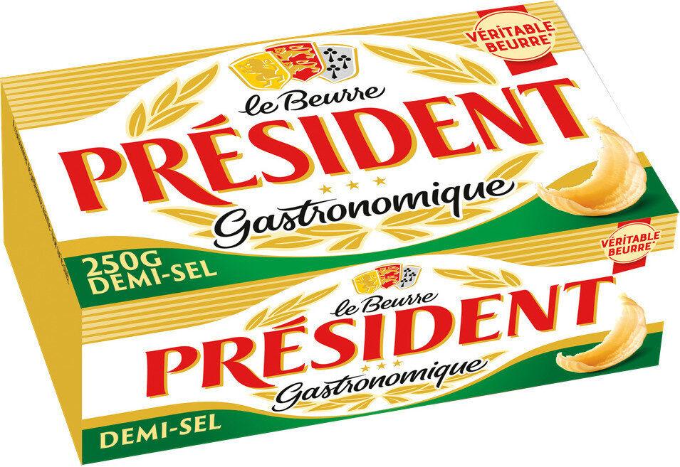 Beurre gastronomique demi sel - Produit - fr
