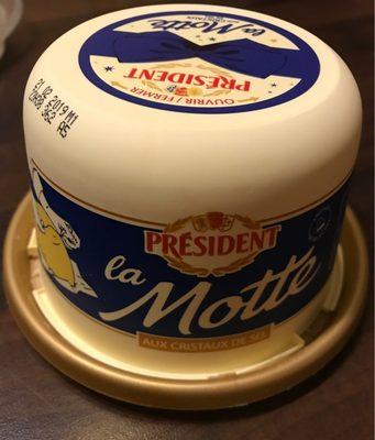 Beurre pasteurisé demi-sel 80% de mat.gr. - Prodotto - fr