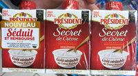 Secret de Crème semi-épaisse - Produit - fr