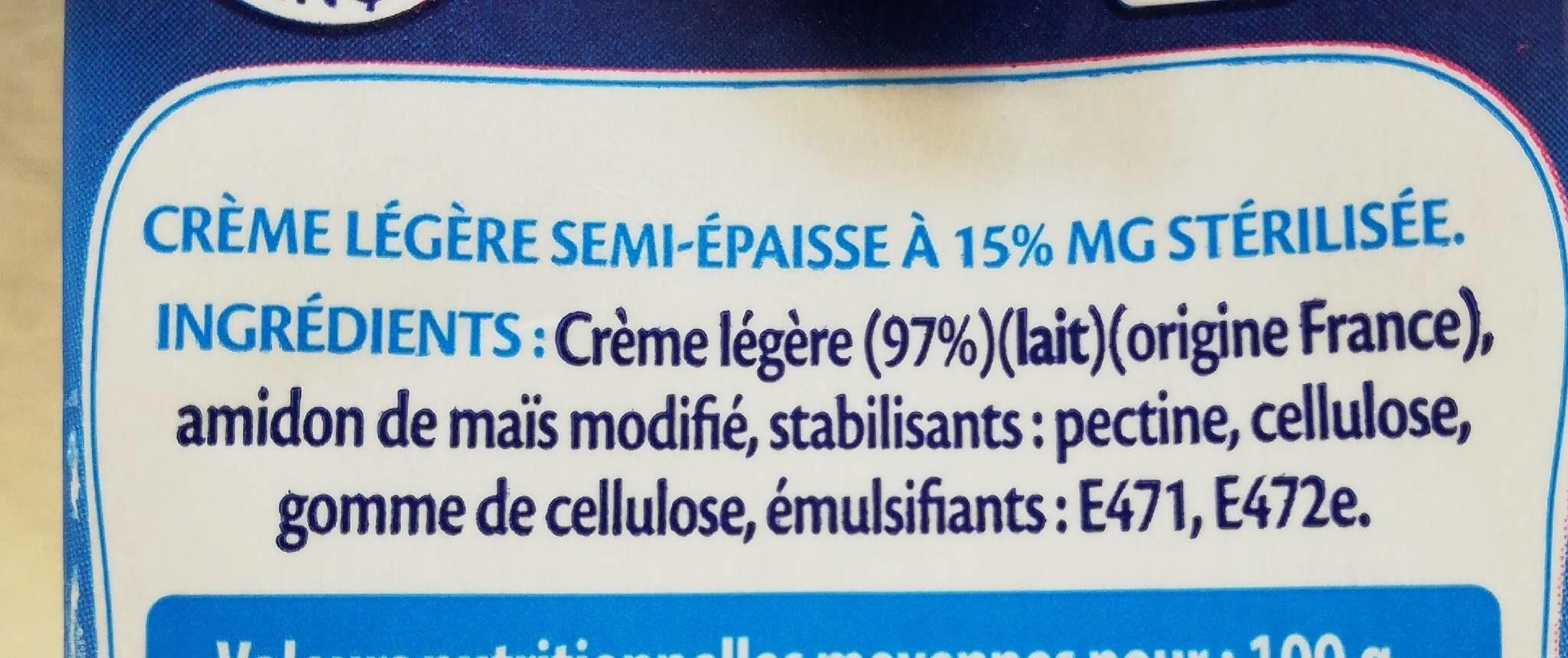 EXQUISE - Ingrediënten - fr
