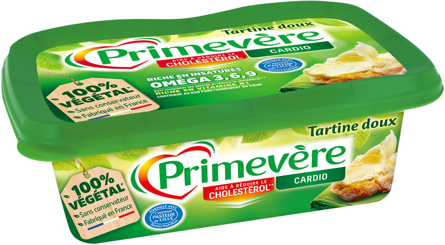 Primevère Tartine Doux - Ingrediënten - fr