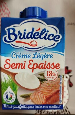 Crème légère semi-épaisse 18% Mat. Gr. - Prodotto - fr