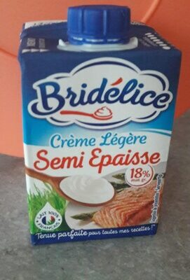 Crème Bridélice Légère Semi Epaise - Recycling instructions and/or packaging information - fr