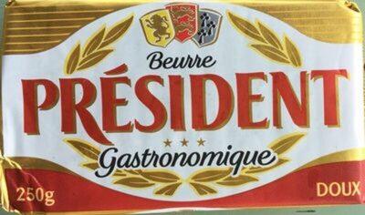 Beurre doux gastronomique - Produit - fr
