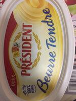 Beurre Tendre Doux - Información nutricional - fr