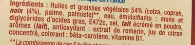 Primevère huile de noix - Ingrédients