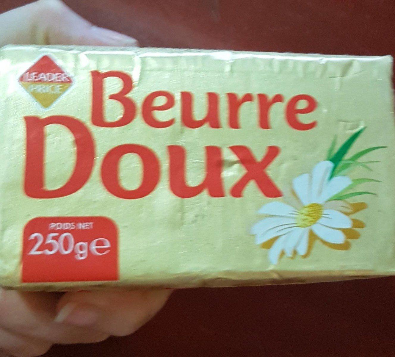 Beurre doux - Prodotto - fr