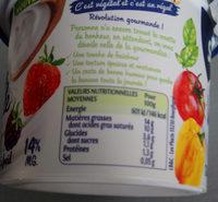 Aide culinaire végétale - Informations nutritionnelles - fr