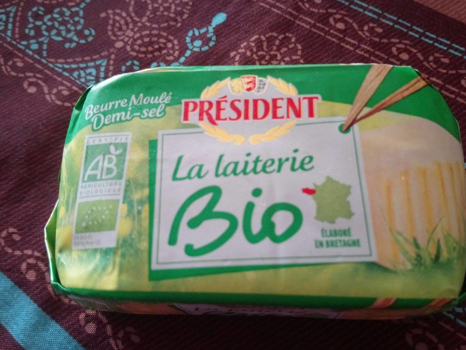 Beurre moulé demi-sel - Produit