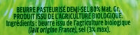 Le moulé Bio Engagé - Ingredients - fr
