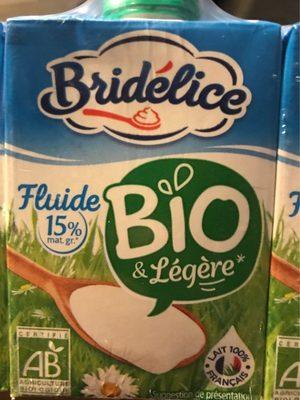Crème luide 15% bridelice - Produit