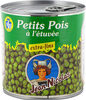 Petits pois etuves extra fins - Product