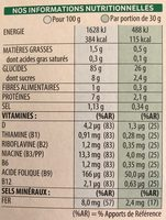 Rice Krispies - Informations nutritionnelles - fr